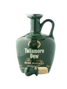 Tullamore Dew Ceramic Crock 70cl 40% Irish Whiskey