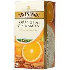 Twinings Tea Orange & Cinnamon 25 tea bags