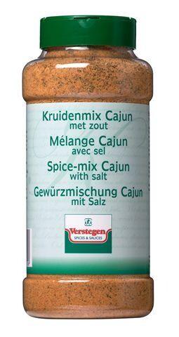 Verstegen Spice Mix Cajun with salt 900gr Pet Jar