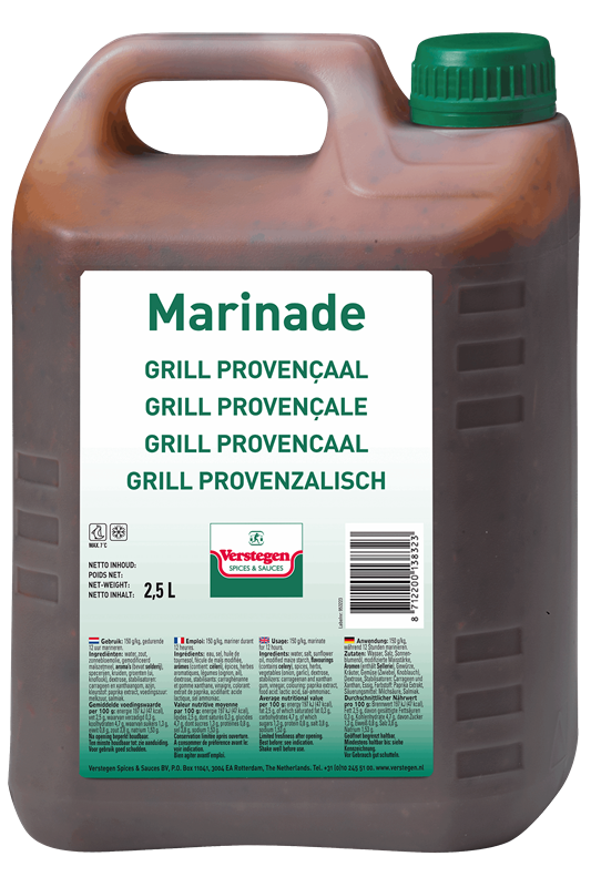 Verstegen marinade grill Provencaals 2.5L
