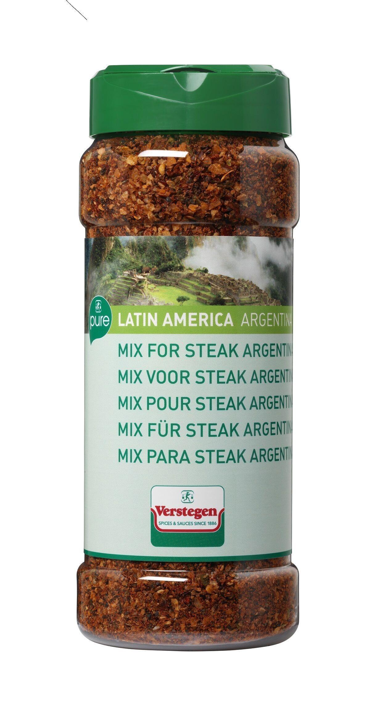 Verstegen Spice Mix Argentina steak 375gr Pure