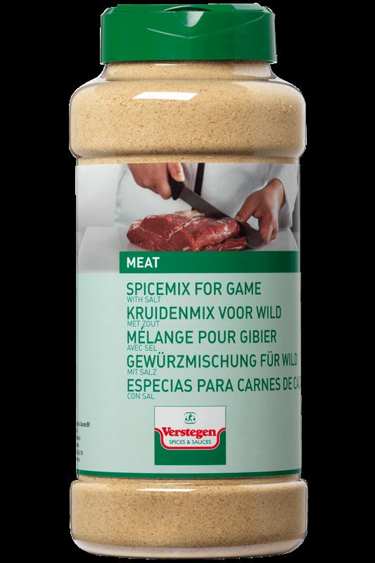 Verstegen Herb mix for Game with salt 750gr 1LP