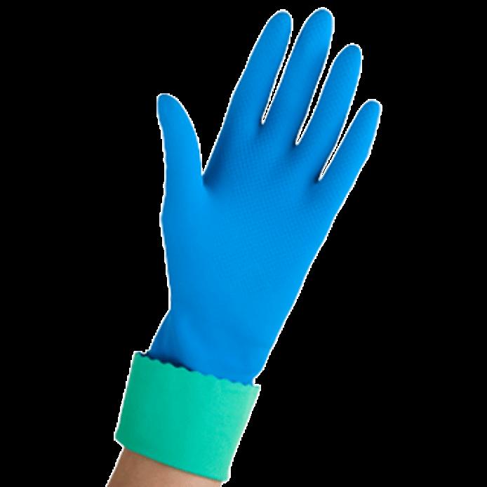 Vileda 1 pair of gloves medium Blue Comfort & Care