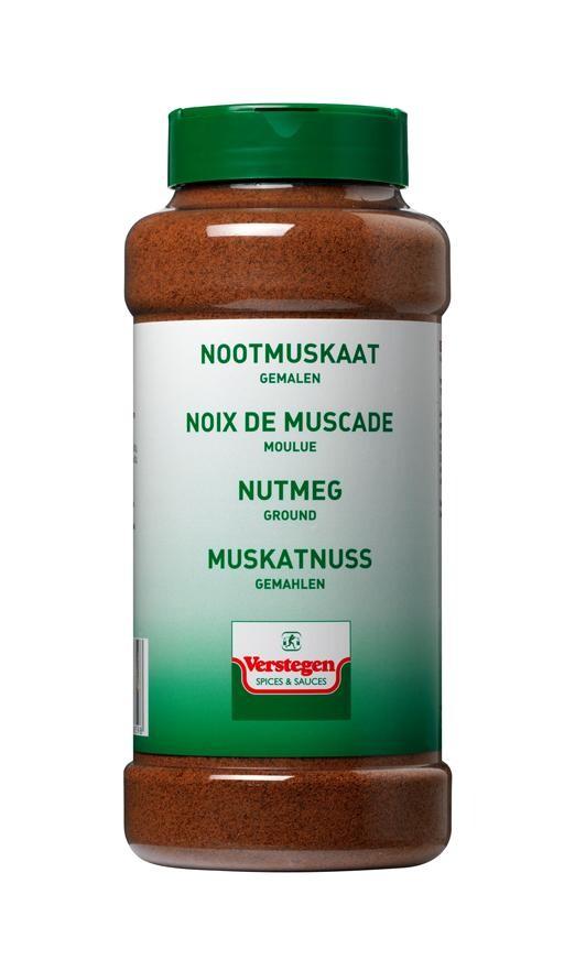 Verstegen Nutmeg ground 500gr PET Jar