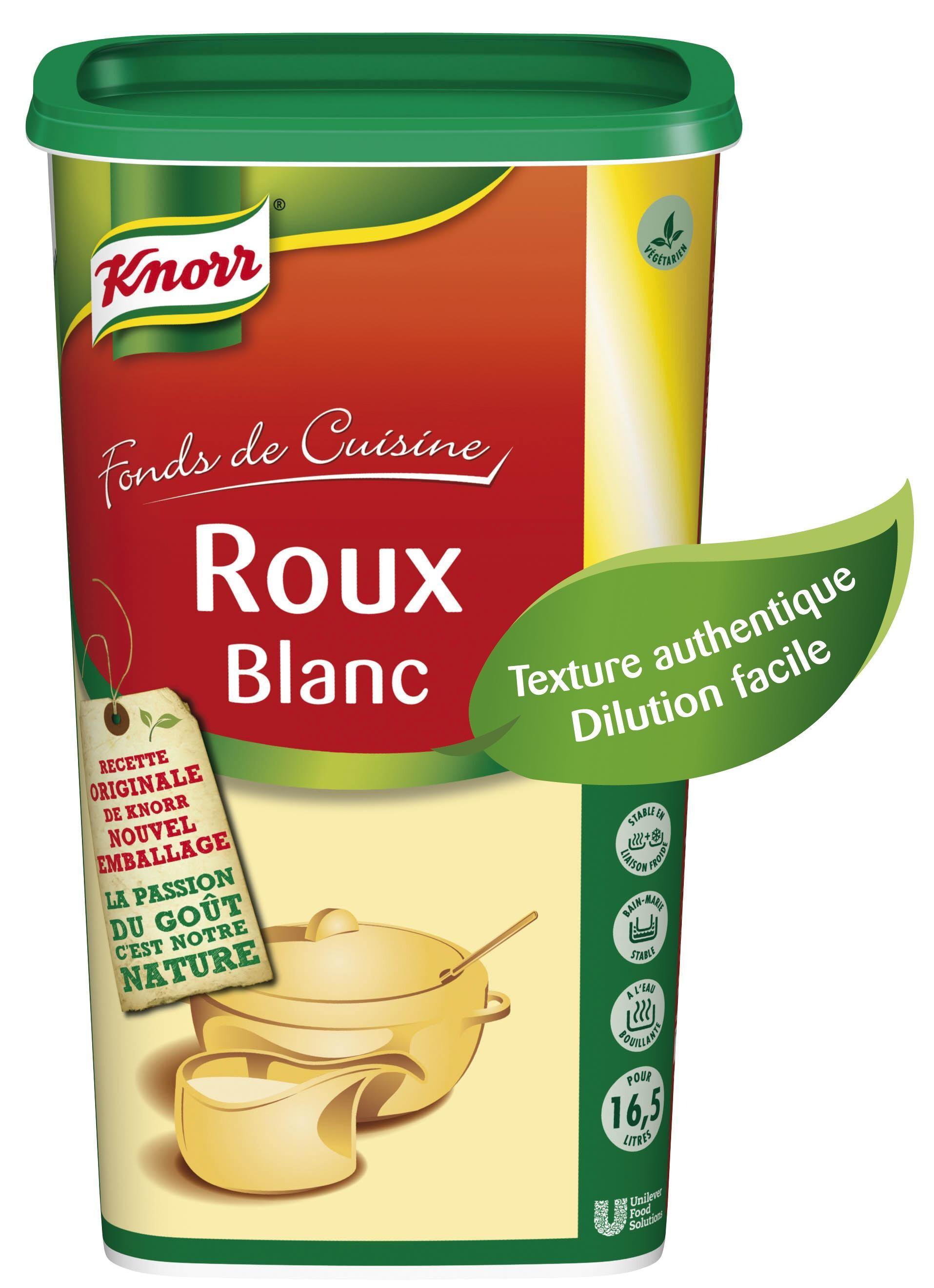 Knorr rouw white granules 1kg
