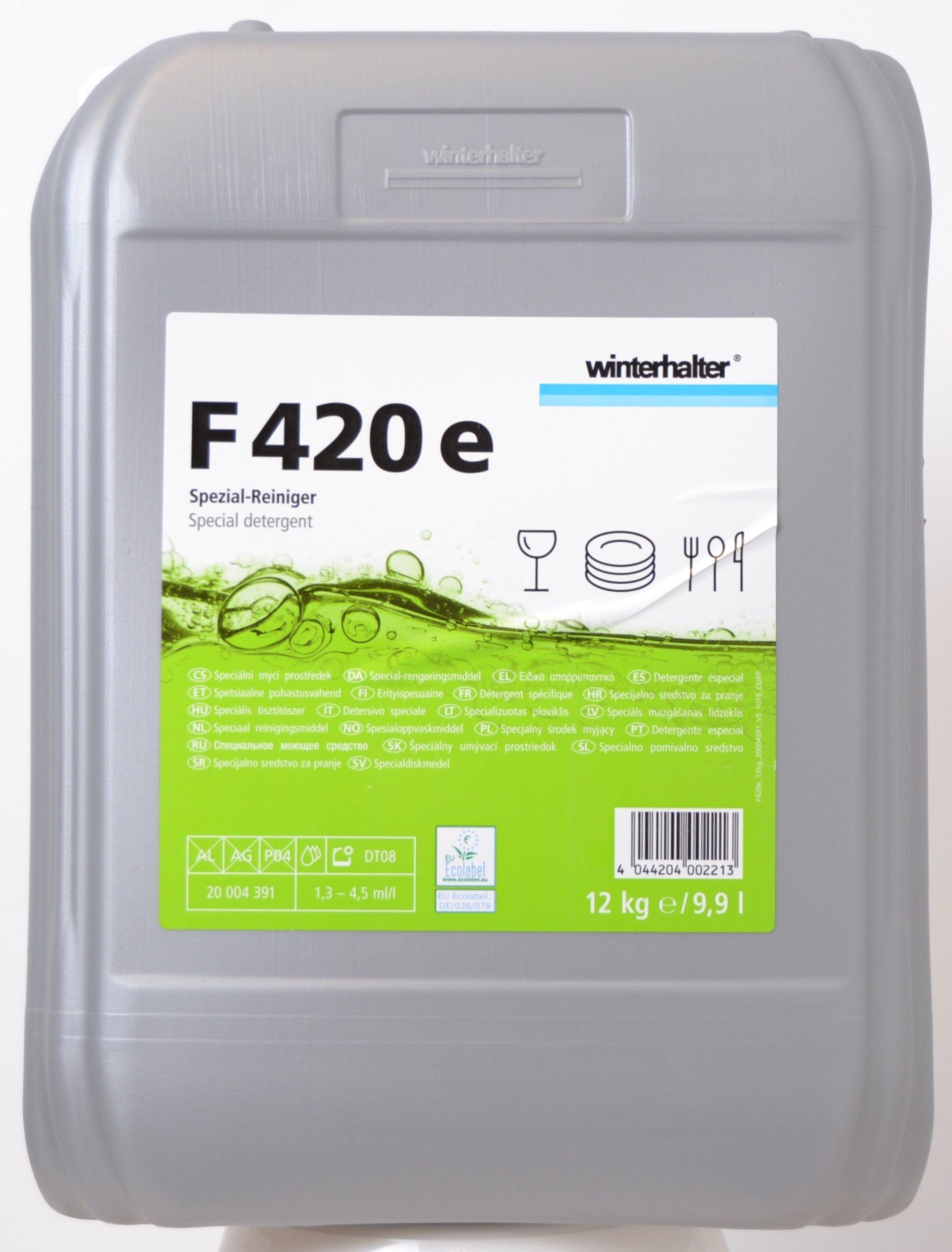 Vloeibaar vaatwasmiddel F420 Winterhalter 12kg