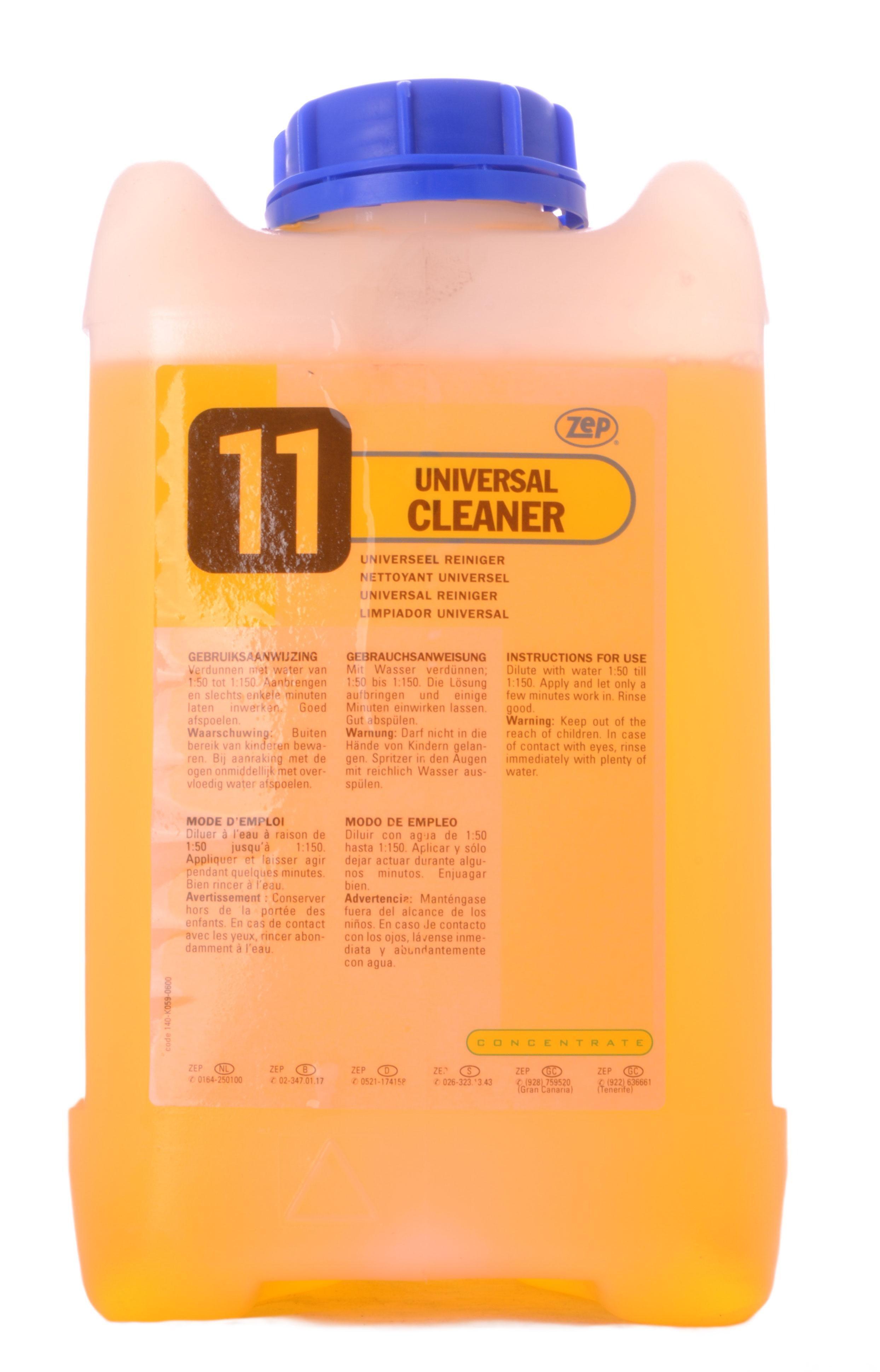ZEP Universal Cleaner 11 5L geconcentreerd allesreiniger