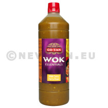 Wok essentials sauce milde curry 1L Go Tan