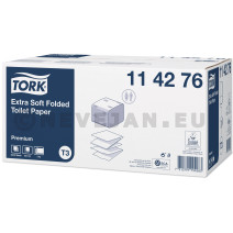 TORK Extra Soft Folded Toilet Paper 2ply 30x252 sheets 114276