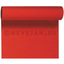 Table runners Tête à tête Dunicel red 0.4x24m 1pc Duni