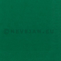 Paper napkins dark green 2-ply 1/4-folded 33x33cm 125pcs Duni