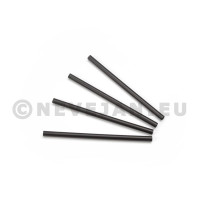 Straight Drinking Straws black 8mm/15cm 500pcs Sier Disposables