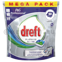 Dreft Platinum Caps Dishwasher Tablets 90pcs P&G Professional