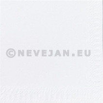 Cocktail napkins white 2-ply 1/4-folded 24x24cm 300pcs Duni