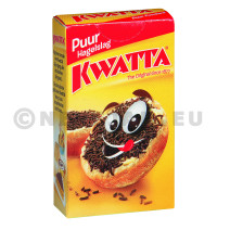 Kwatta chocolate sprinkles dark 120x20gr portions