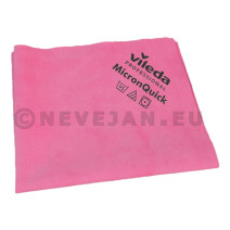Vileda MicronQuick Micronfiber Cleaning Cloths 38x40cm red 5pcs