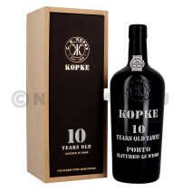 Port wine Kopke 10 years Old 75cl 20% Wooden Case (Porto)