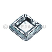 Aluminium Ashtray Square 10x10cm 100pcs