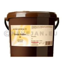 Barry Callebaut 100% cocoa butter 4kg bucket