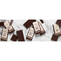 Callebaut Napolitains Chocolate 811 Dark 75pcs Wrapped Individually