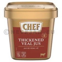 Chef thickened veal jus 1.2kg Nestlé Professional