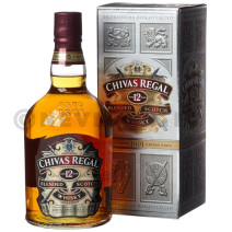 Chivas Regal 12 Year 1L 40% Blended Scotch Whisky