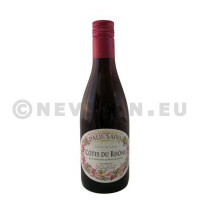 Cotes du Rhone red wine AOC 25cl Paul Sapin bottle screw cap