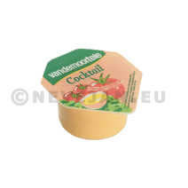 Cocktail sauce portions Cups 20ml Vandemoortele