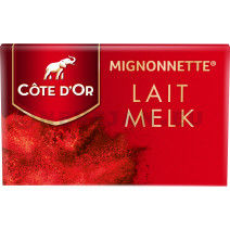 Cote d'Or Mignonettes Milk 120pcs Wrapped Individually