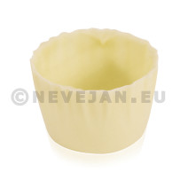 Chocolate cup JULIETTE white 90pcs DV Foods