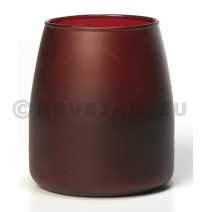 Soft Glow Candles Wine Red 6pcs Spaas 50h