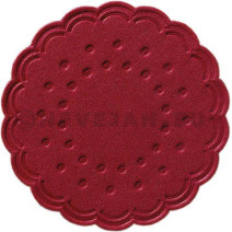 Coasters tissue bordeaux 9-plies 7.5cm 250pcs Duni