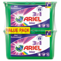 Ariel Color 3in1 Pods 2x42st wasmiddel