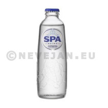 Spa Reine Natural Mineral Water 0.2L glass bottle