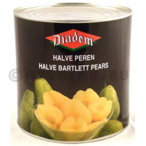 Pear Halves in syrup 2650g Diadem