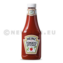 Heinz tomato ketchup 875ml 1000gr squeeze bottle