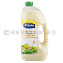 Hellmann's Honey Musterd Dressing 3L