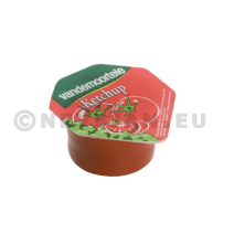 Ketchup portions 120x20ml cups Risso Vandemoortele