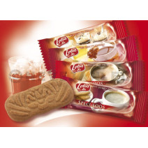 Biscoff Caramelised Biscuits individually wrapped 400pcs Lotus Bakeries