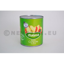 Apple compote with pieces 1L Materne