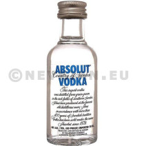 Miniatuur Vodka Absolut 5cl 40%