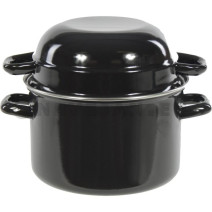 Cooking Pot Mussels with Lids 18cm 6x1pcs