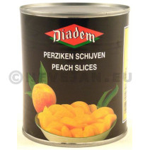 Peach Halves in syrup canned 2650g Diadem
