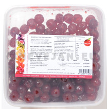 Red glace cherries whole 1kg Ambrosio
