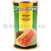 White Asparagus peeled 0.5L Lys de France