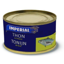 Tonijn in olie solid pack 200gr imperial