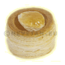 Vide Marleen Round Puff Pastry 7cm 60pcs Nº1011