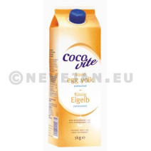 Liquid Egg Yolk Pasteurised 1kg Cocovite