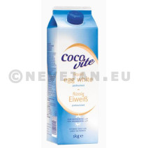 Liquid Egg White pasteurised 1L Cocovite