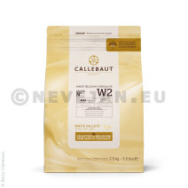 Barry Callebaut Chocolate Callets W2 white 2.5kg 5.5lbs